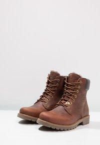 Panama Jack - IGLOO - Šněrovací kotníkové boty - bark - 2