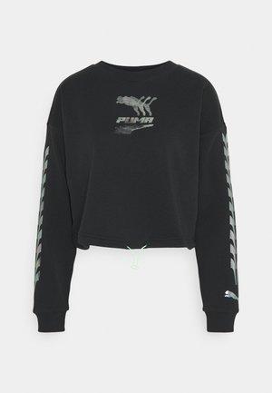 EVIDE CREW - Sweater -  black