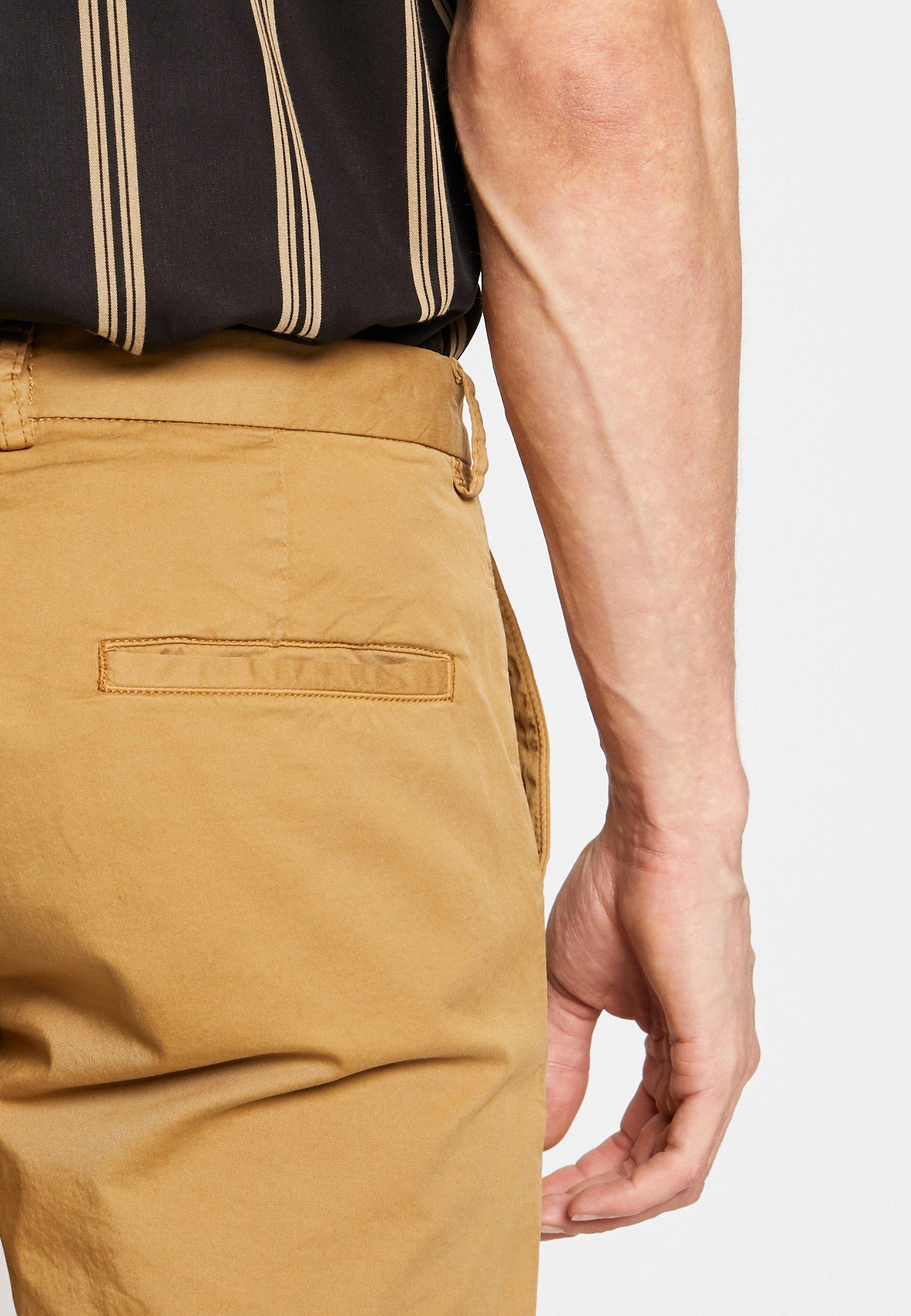 Samsøe Samsøe FRANKIE TROUSERS - Pantalon classique - antique bronze