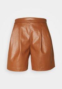 Vila - VIVIVI SHORTS - Shorts - tortoise shell - 0