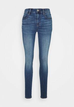 HI RISE JEGGING - Jeans Slim Fit - medium vintage wash