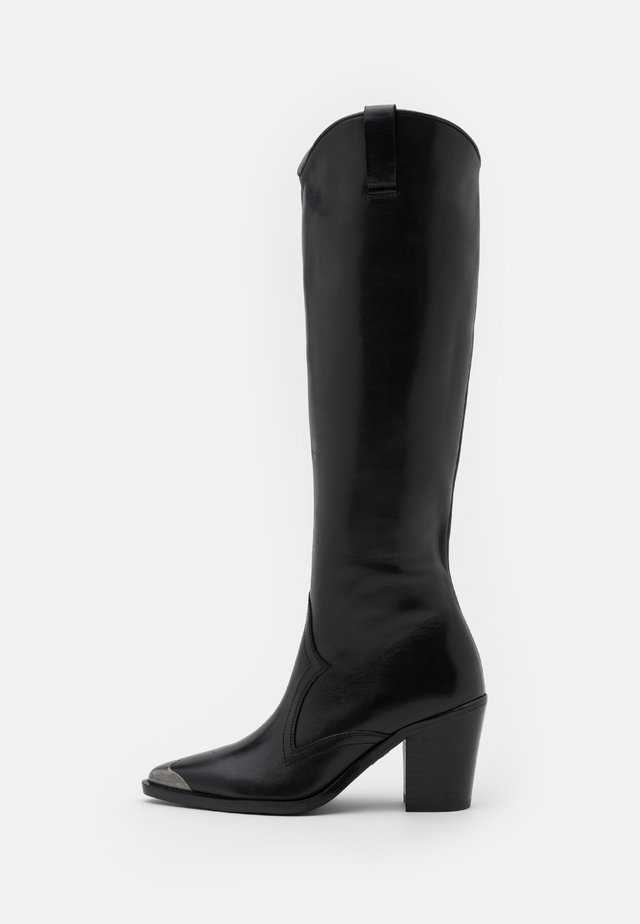 NEW AMERICANA  - Botas camperas - black