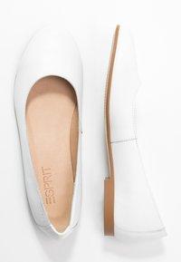 Esprit - MOALA BASIC - Ballet pumps - white - 3