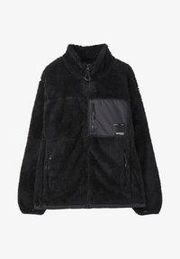 PULL&BEAR - Fleece jacket - mottled black - 5
