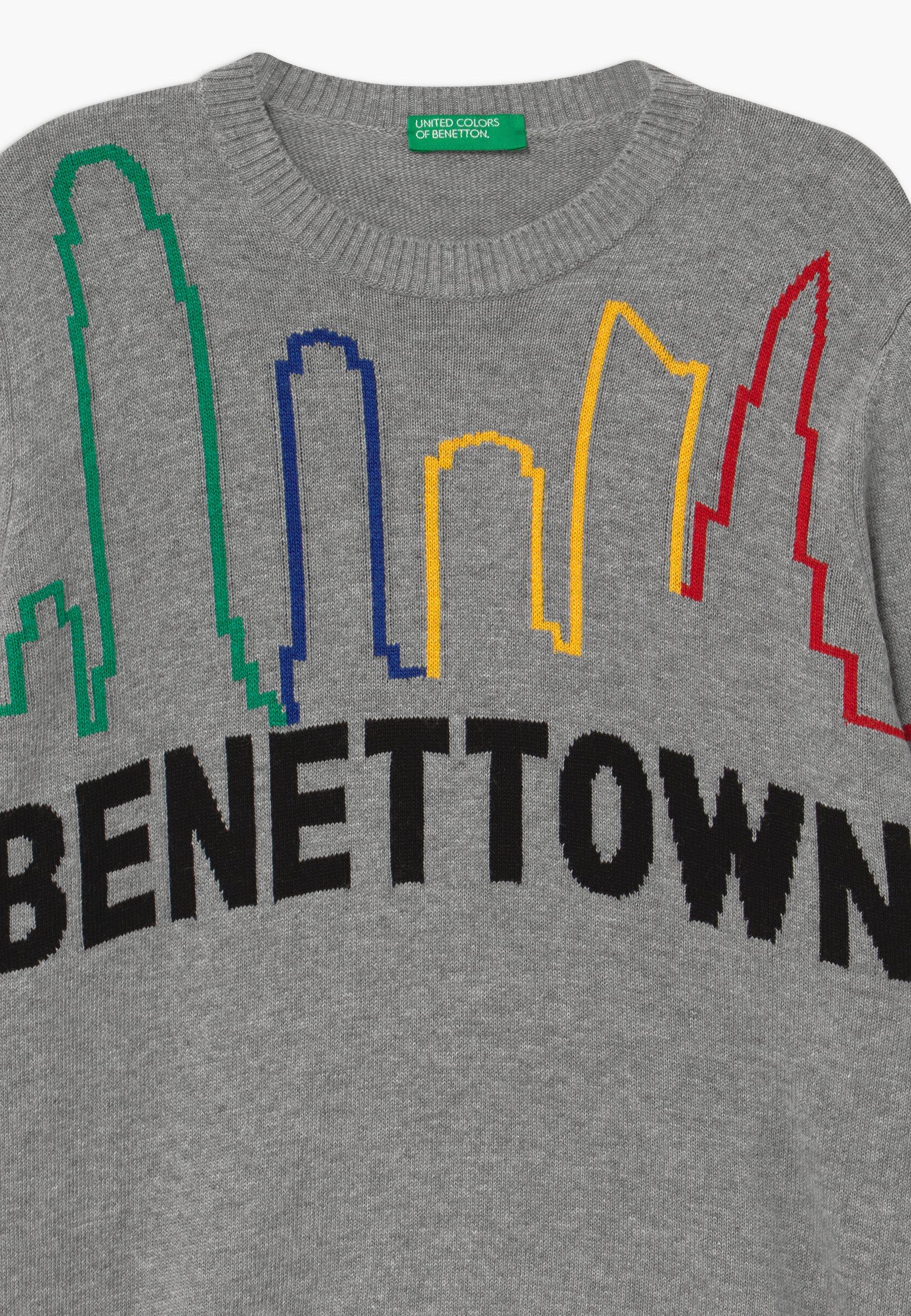 Excellent Wholesale Benetton FUNZIONE BOY - Jumper - grey | kids's clothing 2020 13ryt