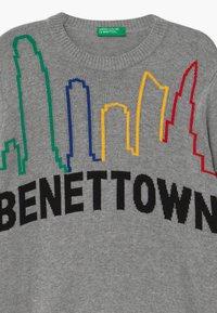 Benetton - FUNZIONE BOY - Maglione - grey - 2