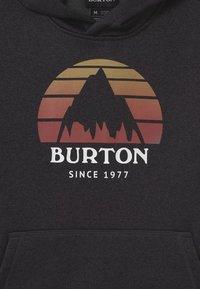 Burton - KIDS OAK HOODIE UNISEX - Sweatshirt - true black heather - 2