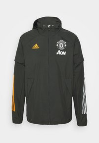 adidas Performance - MANCHESTER UNITED SPORTS FOOTBALL JACKET - Equipación de clubes - olive - 4