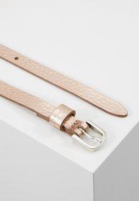 Vanzetti - Belt - rosegold metallic - 2