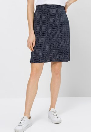 A-line skirt - desert night blue