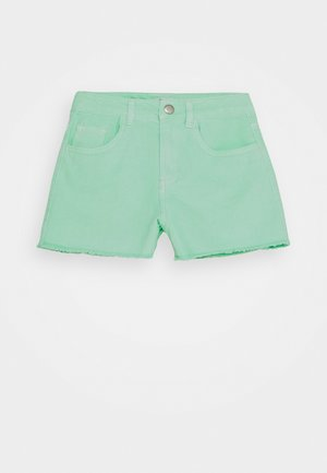 NKFRANDI MOM TWIIZZA CAMP - Denim shorts - green ash