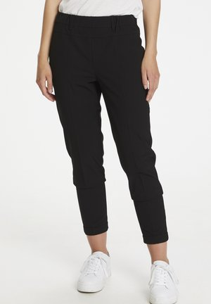 NANCI JILLIAN - Broek - black deep