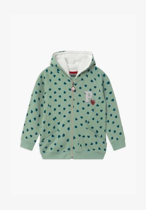 SMALL GIRLS  - veste en sweat zippée - spray green