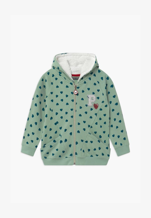 SMALL GIRLS  - Zip-up hoodie - spray green