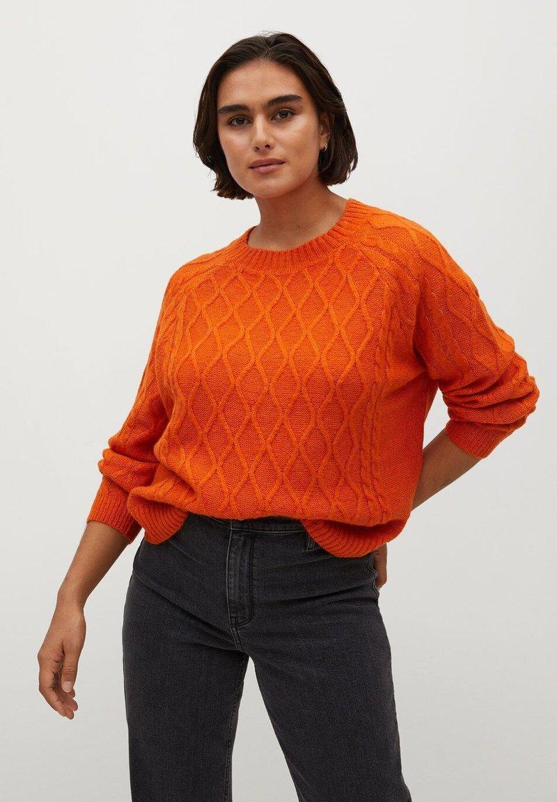 Violeta by Mango - ORANGE - Jumper - orange