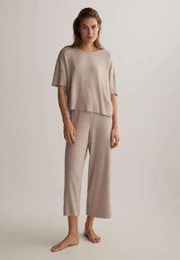 OYSHO - Pyjama bottoms - beige - 1