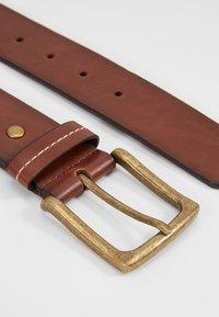 Burton Menswear London - JEANS BELT - Belt - brown - 2