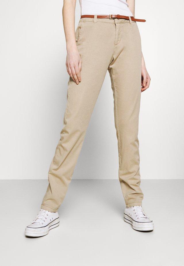 VMFLASH BELT COLOR PANT - Pantalon classique - silver mink
