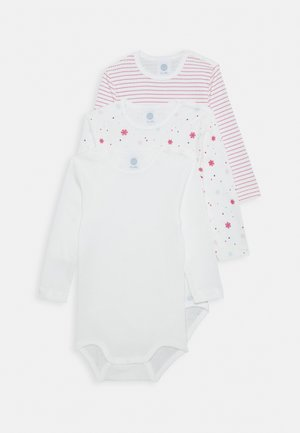 BODY LONGSLEEVE BABY 3 PACK - Body - broken white