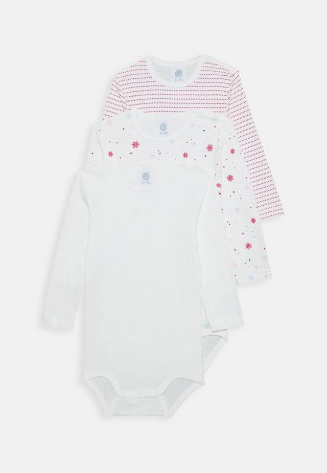 BODY LONGSLEEVE BABY 3 PACK - Body - broken white