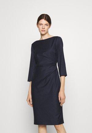 BURGOS - Shift dress - night blue