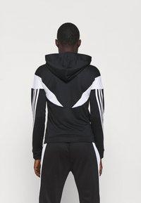 adidas Performance - COLORBLOCK - Tracksuit - black/white - 2