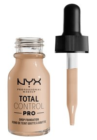 Nyx Professional Makeup - TOTAL CONTROL PRO DROP FOUNDATION - Foundation - alabaster - 1