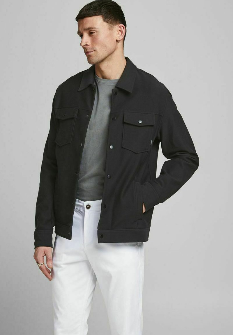 Jack & Jones PREMIUM - Summer jacket - black