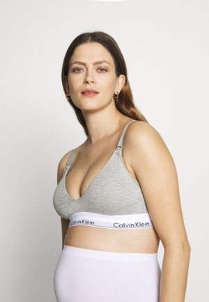MODERN MATERNITY BRA - Alustoppi - grey heather