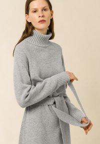 IVY & OAK - ROSE KAMELA  - Maxi dress - oyster grey melange - 0