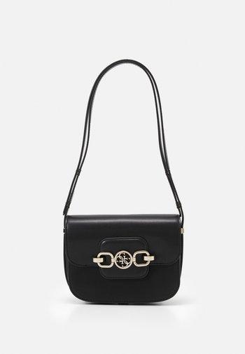 HENSELY MINI XBDY FLAP - Across body bag - black