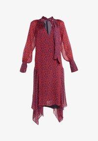 Strenesse - DRESS DIAMONDE - Maxi dress - navy/red - 4