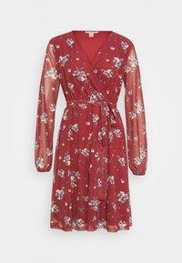 Anna Field - Day dress - dark red - 4
