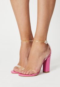 BEBO - PHOEBE - High heeled sandals - clear - 0
