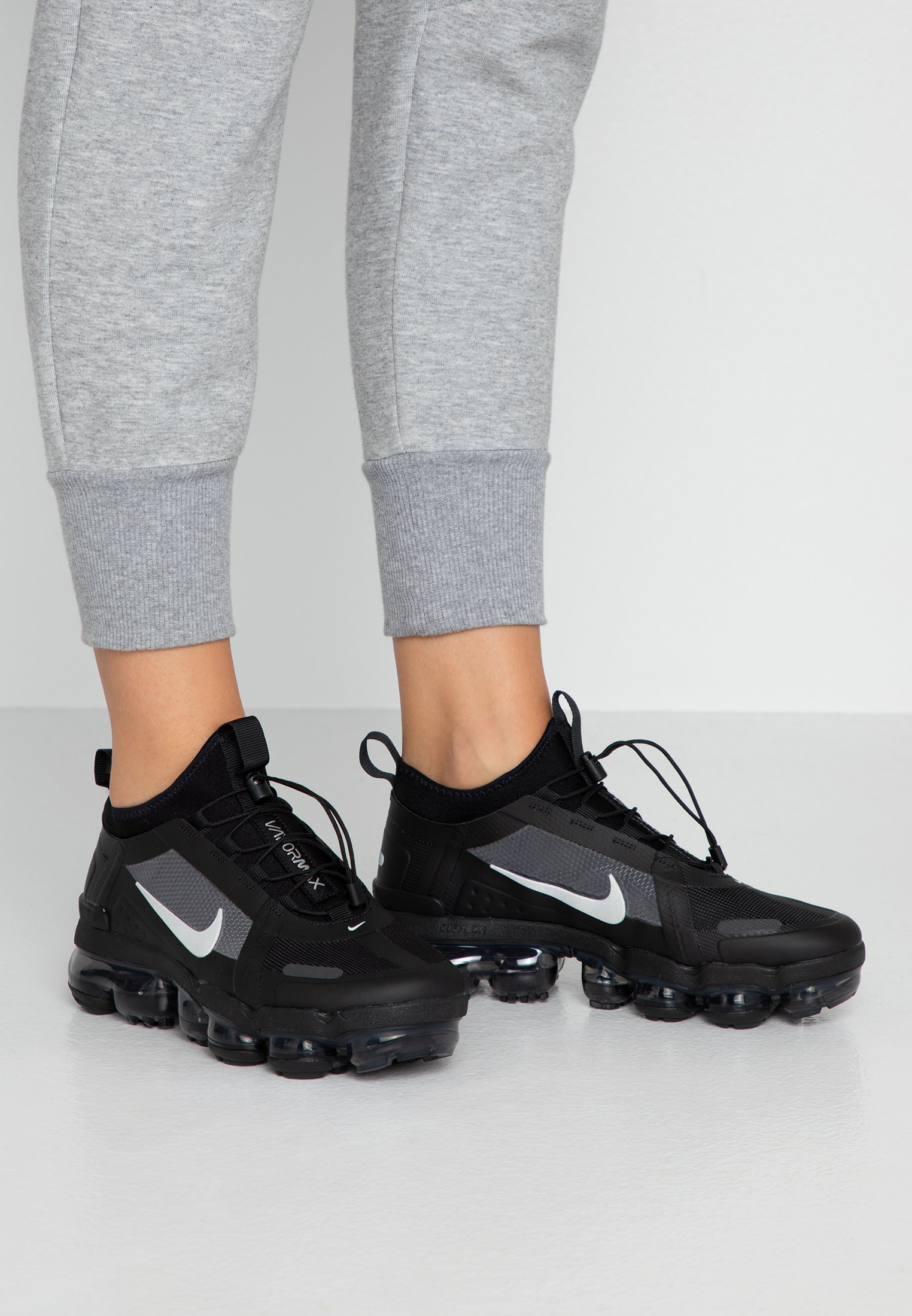 AIR VAPORMAX 2019 UTILITY - Sneakers laag - black/reflect silver/white