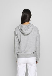 Nike Sportswear - Felpa con cappuccio - grey heather/white - 2