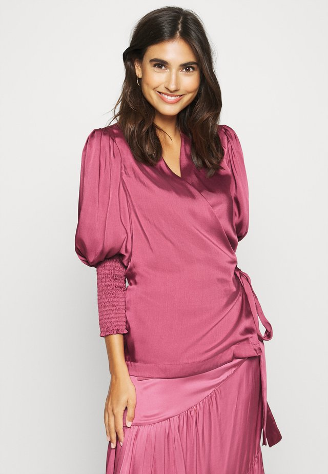 HOPE BLOUSE - Bluser - dusty raspberry