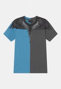 Marcelo Burlon - Print T-shirt - blue - 0