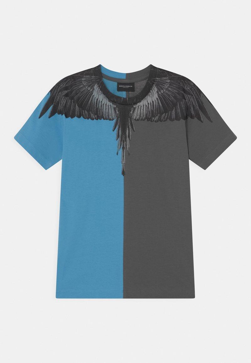 Marcelo Burlon - Print T-shirt - blue