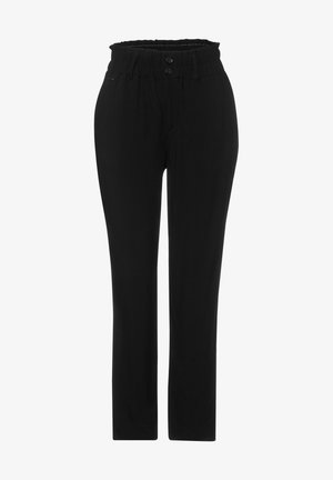 LOOSE FIT  - Trousers - schwarz