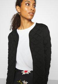 ONLY - ONLSPIRIT QUILTET SHORT JACKET  - Summer jacket - black - 4