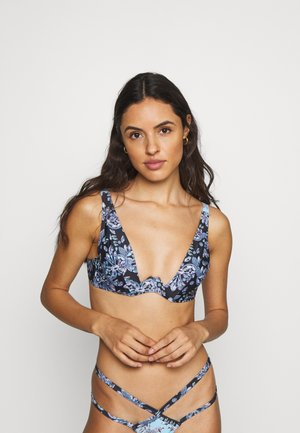 JEWEL BAROQUE - Bikinitopp - blue