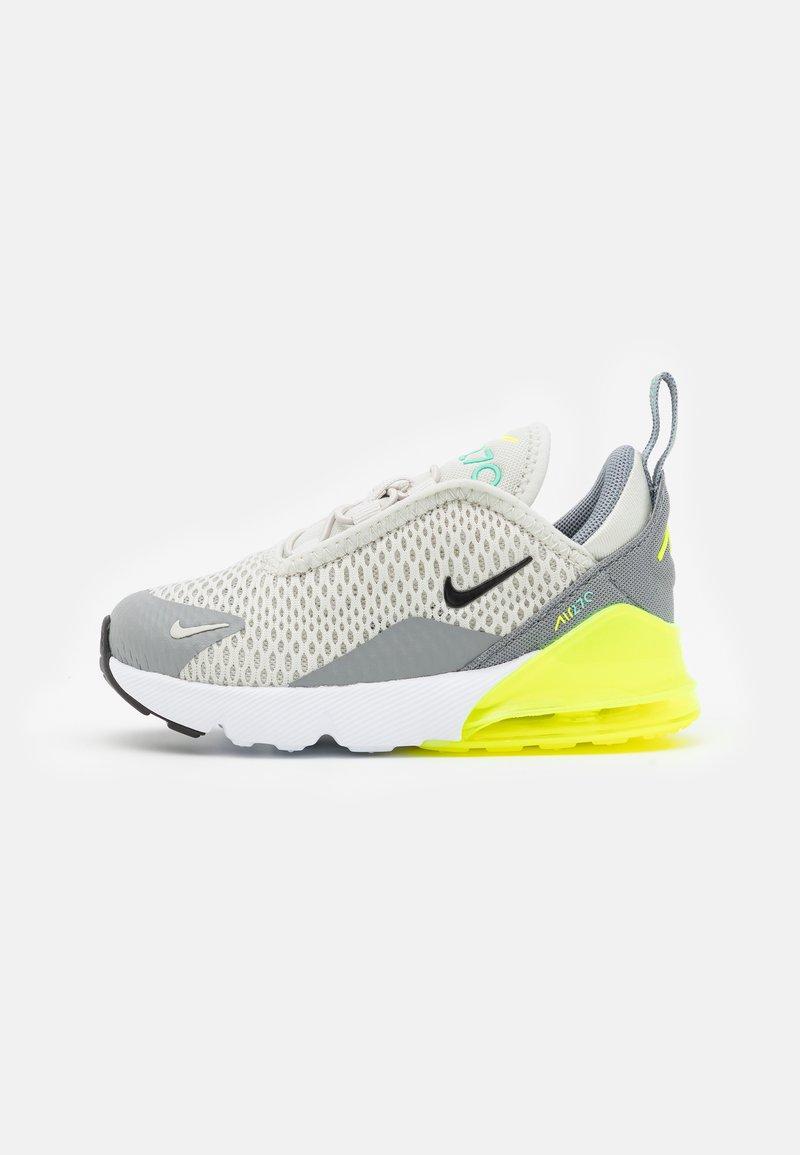 Nike Sportswear - AIR MAX 270 BT UNISEX - Tenisky - light bone/black/volt/particle grey