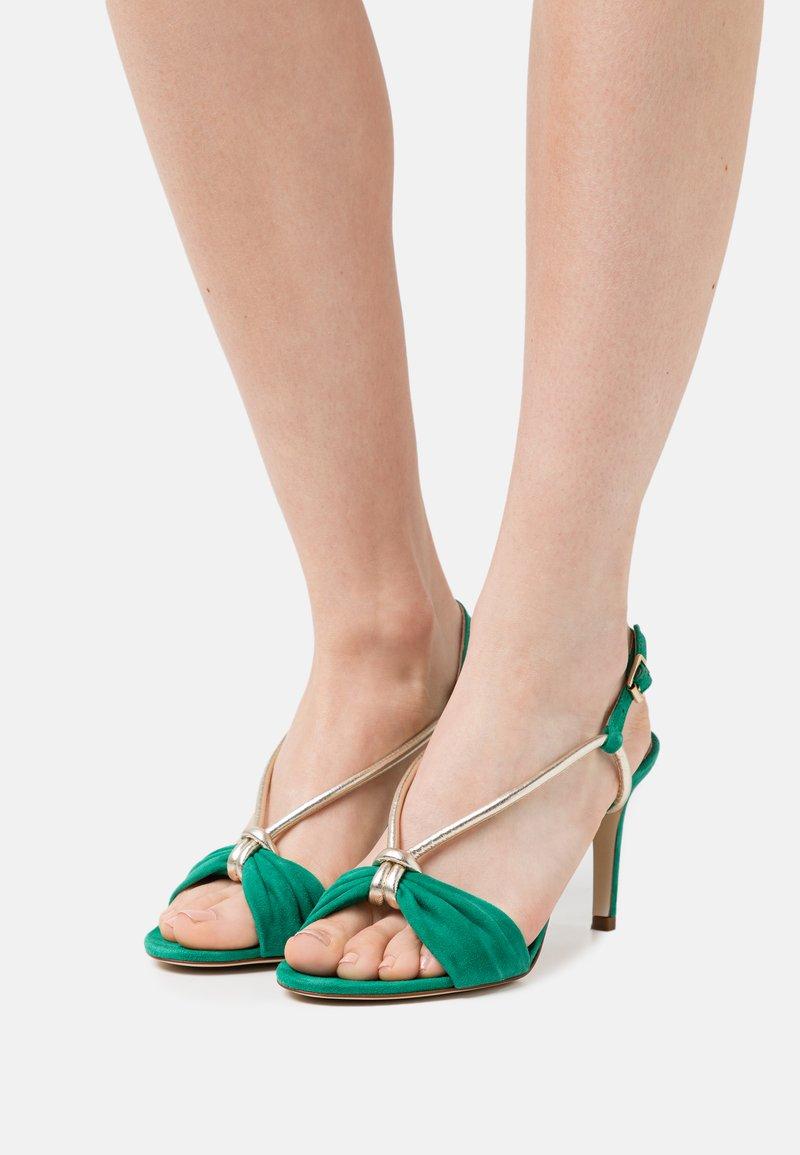 San Marina - ARLINO - Sandals - green