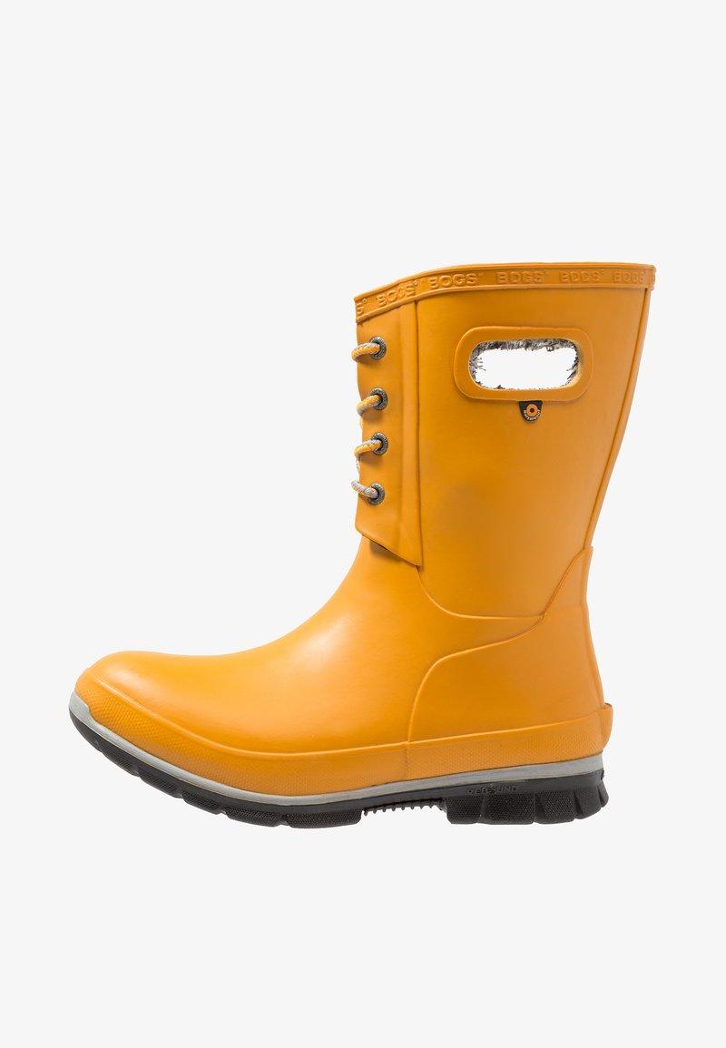 Bogs - AMANDA PLUSH - Regenlaarzen - mustard