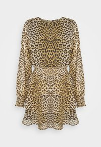 ALVA DRESS EXCLUSIVE - Day dress - brown