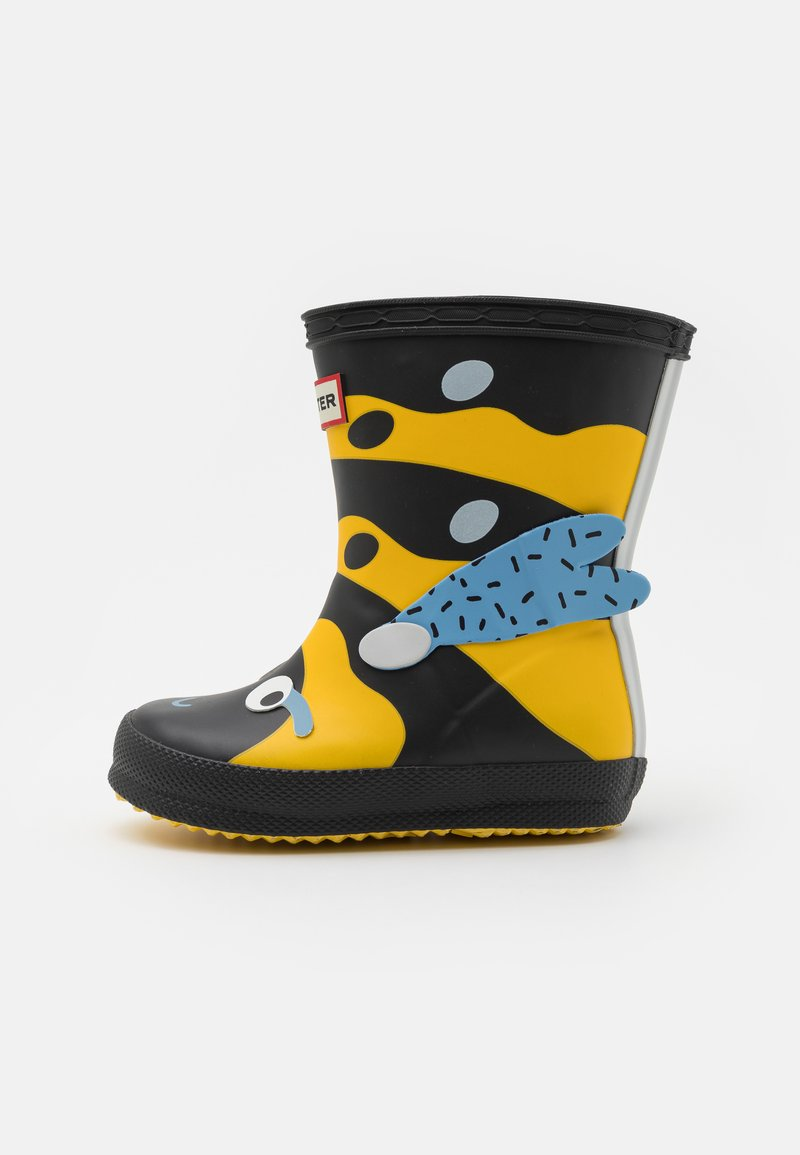 Hunter ORIGINAL - KIDS FIRST WASP CHARACTER BOOT UNISEX - Wellies - sunflower