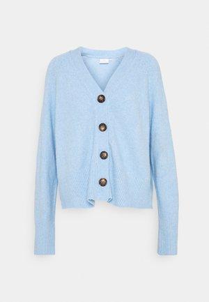 FABIOLA CARDIGAN - Chaqueta de punto - chambray blue