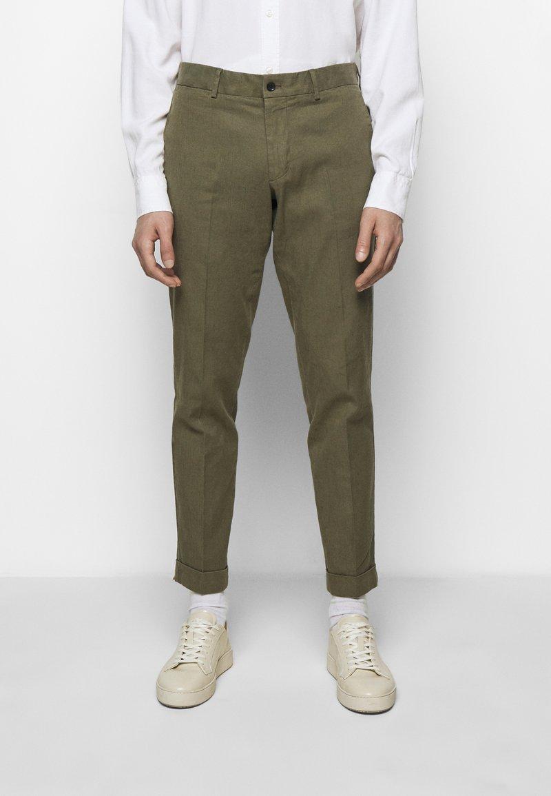 J.LINDEBERG - GRANT STRETCH PANTS - Chino kalhoty - lake green
