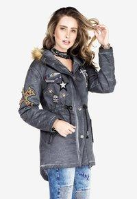 Cipo & Baxx - Winter jacket - anthracite - 4